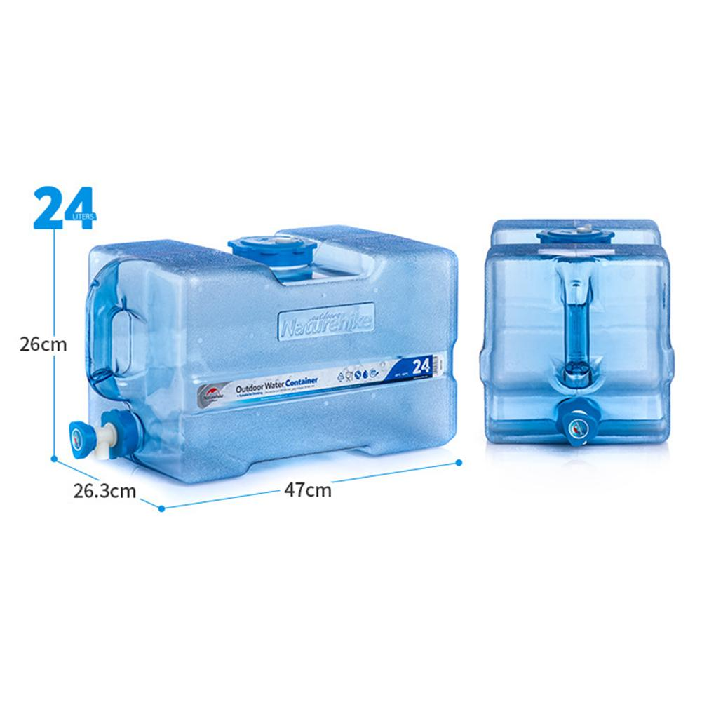 Capacidade Ao Ar Livre Recipiente De Água