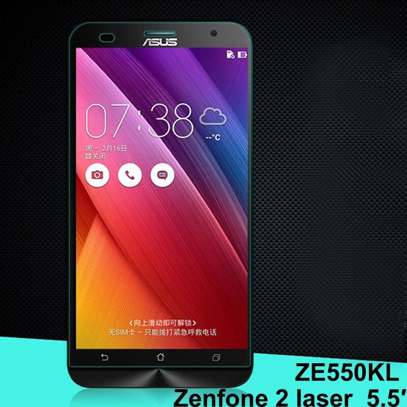 Phone Screen Tempered Glass For ASUS Zenfone 2 LASER ZE551KL ZE550KL 55 Inch Film