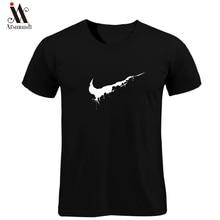 e1cb90f7 New Summer Cotton Men's Tshirt Casual O Neck Short Sleeve T-Shirt Men  Fashion Fitness