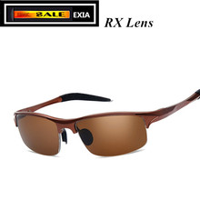 ec9f187ad61 RX Sunglasses Ophthalmic Lenses Brown Polarized UV400 CR-39 1.499 Index EXIA  OPTICAL