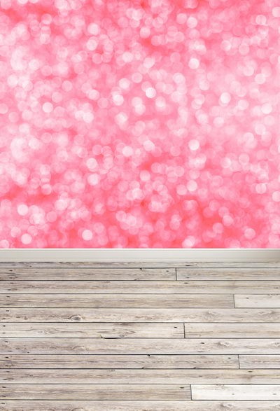 Vinyl pink bokeh photography backdrops 5 ft  x 8 ft photo studio portrait photographic background for children F-001 vinyl photography background bokeh computer printed children photography backdrops for photo studio 5x7ft 888