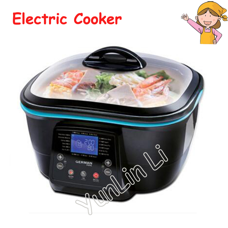 Multi-function Electric Cooker Hot Pot Kitchen Appliances Korean Kettle Frying Pan Multi-Purpose Hot Cooking Pot DFC-818