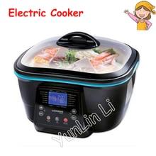 Multi-function Electric Cooker Hot Pot Kitchen Appliances Korean Kettle Frying Pan Multi-Purpose Hot Cooking Pot DFC-818