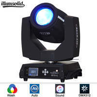 Moving Head Light Spot Light Gobo Pattern Prism Rotating Lamp 230W 8+16 Channel DMX512 for Disco KTV Club Party Theater