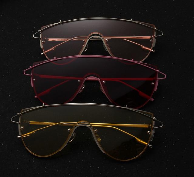 Luksusowa Okulary Przeciwsłoneczne Kwadratowe