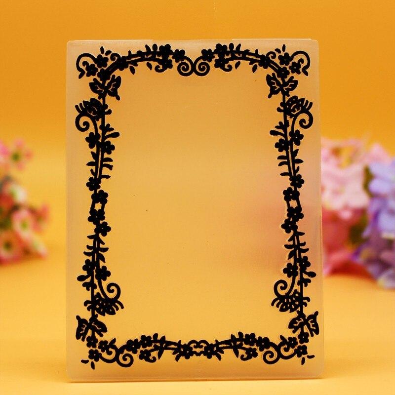 DIY Scrapbooking Bunga Baru Embossing File Template Foto Pembuatan - Seni, kerajinan dan menjahit - Foto 2