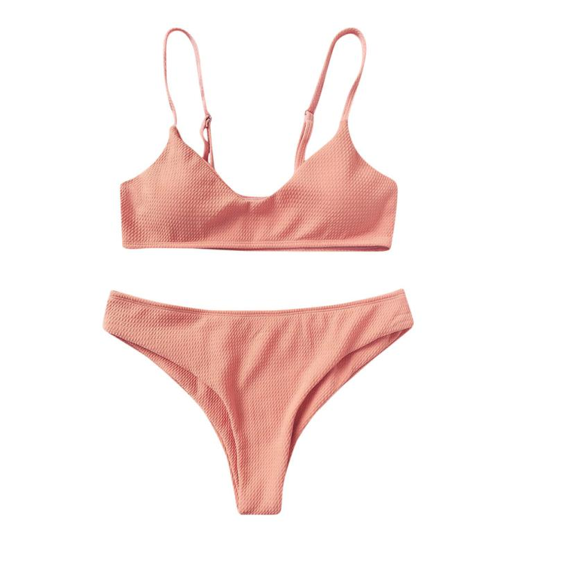 7b42498e55 Dropwow WOMAIL Women Bikini Set Push Up Bikini Bralette Swimwear Cheeky  Bikini Swimsuit biquini plus size biquini-cintura-alta  A30