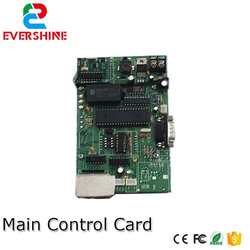 Main Control Card 12V RS232 Gas Oil Price LED sign Control Board Use For All Size Led Digital Number Module For Gas Station
