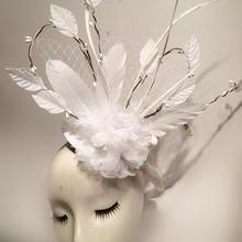 Женские вечерние Хиппи 70s Mad Hatter маскарадный костюм топ шляпа винтажные готические аксессуары для волос