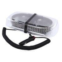 12V/24V Amber LED Car Truck Strobe Emergency light Construction Vehicle Safety Flashing warning Lamp Magnetic Mounted Beacon