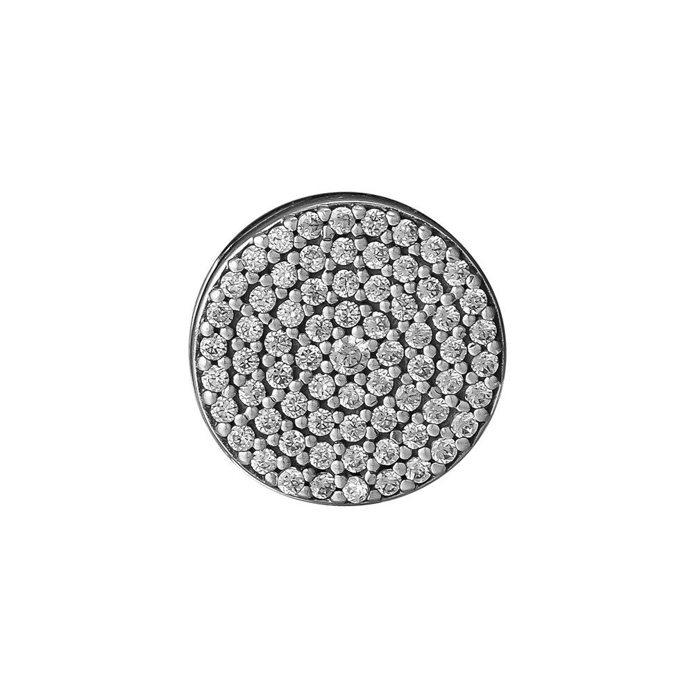 Klar CZ Steine Kristall Eleganz Reflexions Perlen für Schmuck Machen Fit DIY Reflexions Armbänder Mode Silber 925 Schmuck