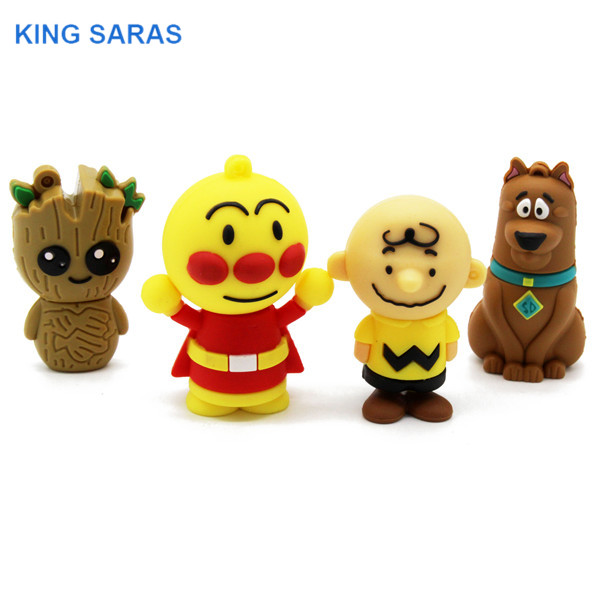 KING SARAS 64GB  New Style 4 Model Cute Tree Demon Dog Clown Usb Flash Drive Usb 2.0 4GB 8GB 16GB 32GB  Pendrive Gift