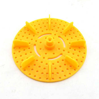 Yellow round propeller multi - function model wheel oars DIY image