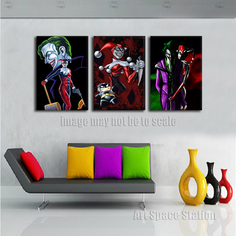 Buy harley quinn batman joker dc comics for Harley quinn bedroom ideas