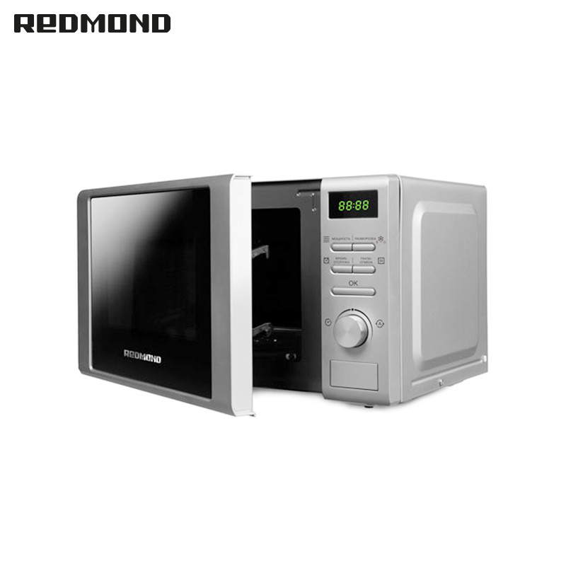 Microwave Oven Redmond RM-2002D household microwave oven multifunction smart home microwave 10pcs lot high quality microwave oven repairing part 13 x 12cm mica plates sheets for galanz etc microwave