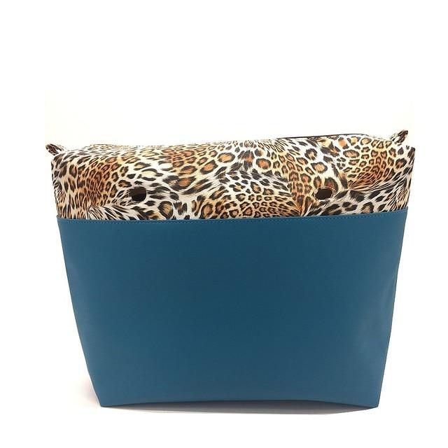 2016 Hight quality New arrival O& bag Canvas bag Inner lining Interior Zipper Pocket suitable for EVA handbag