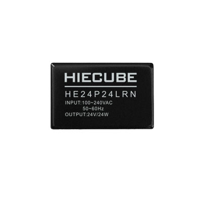 AC DC power module 24V1A220V to 24V module power HIECUBE isolation acdcHE24P24LRN