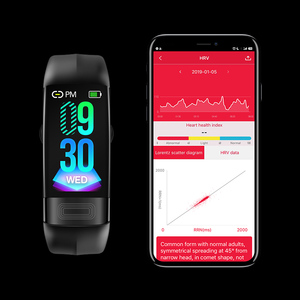 "Image 5 - JingTider P11 חכם להקת 0.96 ""אק""ג + PPG לחץ דם קצב לב צג פעילות כושר גשש חכם צמיד עבור IOS אנדרואיד"