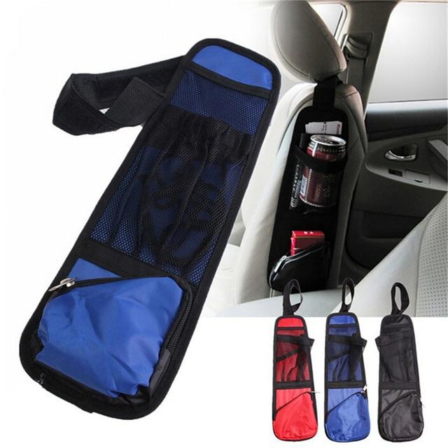 Car Seat Side Multi Pocket Pouch Organizer Travel Storage Bag Bottle Holder
