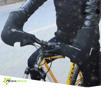 RockBros Winter Warm Cycling Gloves Windproof Waterproof Mtb Mountain Road Bike Gloves Guantes Ciclismo Sports Bycicle