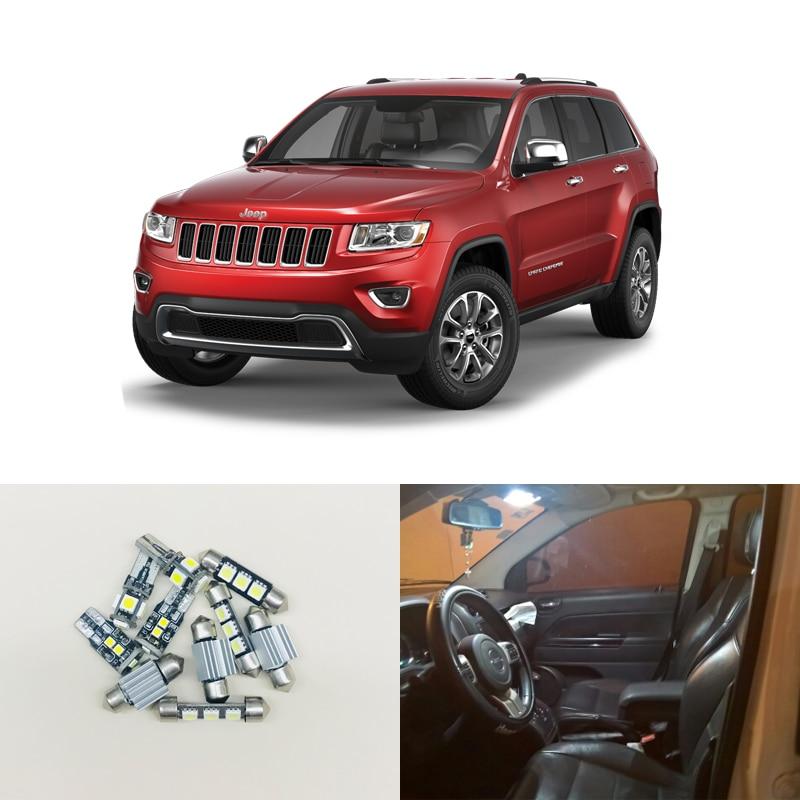 10pcs canbus error free car interior led light lamp kit - 2010 jeep grand cherokee interior ...