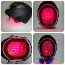 68 DIODES light therapy LLL hair loss productswith glasses +timer