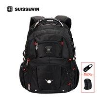 SUISSEWIN Mochila Escolar Suissewin Pegasus Qualität Laptop-tasche Doppelt schulter Reiserucksack Military Taschen Marke Verkauf Sn8112