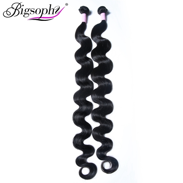 Peruvian Hair Body Wave Bundles 8-44 28/30/32/40 Inch Human Hair 3/4 Bundles 100% Human Remy natural Color Hair Extension weaves