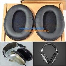 Almofada da orelha de couro para koss pro3aa pro4aa pro 3aa 4aa titanium fone ouvido headsets almofadas esponja capa earmuff
