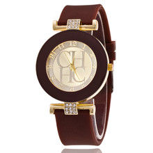 2018 New simple leather Brand Geneva Casual Quartz Watch Women Crystal Silicone Watches Relogio Feminino Wrist Watch Hot sale стоимость