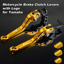 цена на CNC Motorbike Levers Motorcycle Brake Clutch Levers Foldable Extendable Adjustable For Yamaha FZ1 FAZER FZ6 FZ6R FZ8