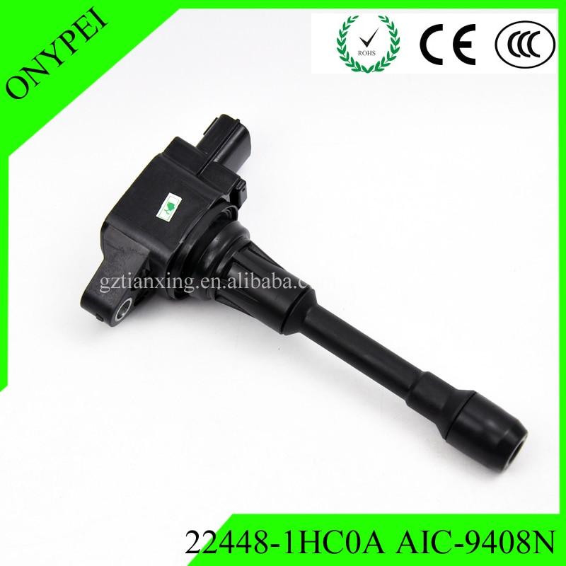 Ignition-Coil HR16DE 22448 1hc0a Nissan Micra Note For K13/Hr15de/Versa/Note L4 Aic9408n/22448-5rb0a