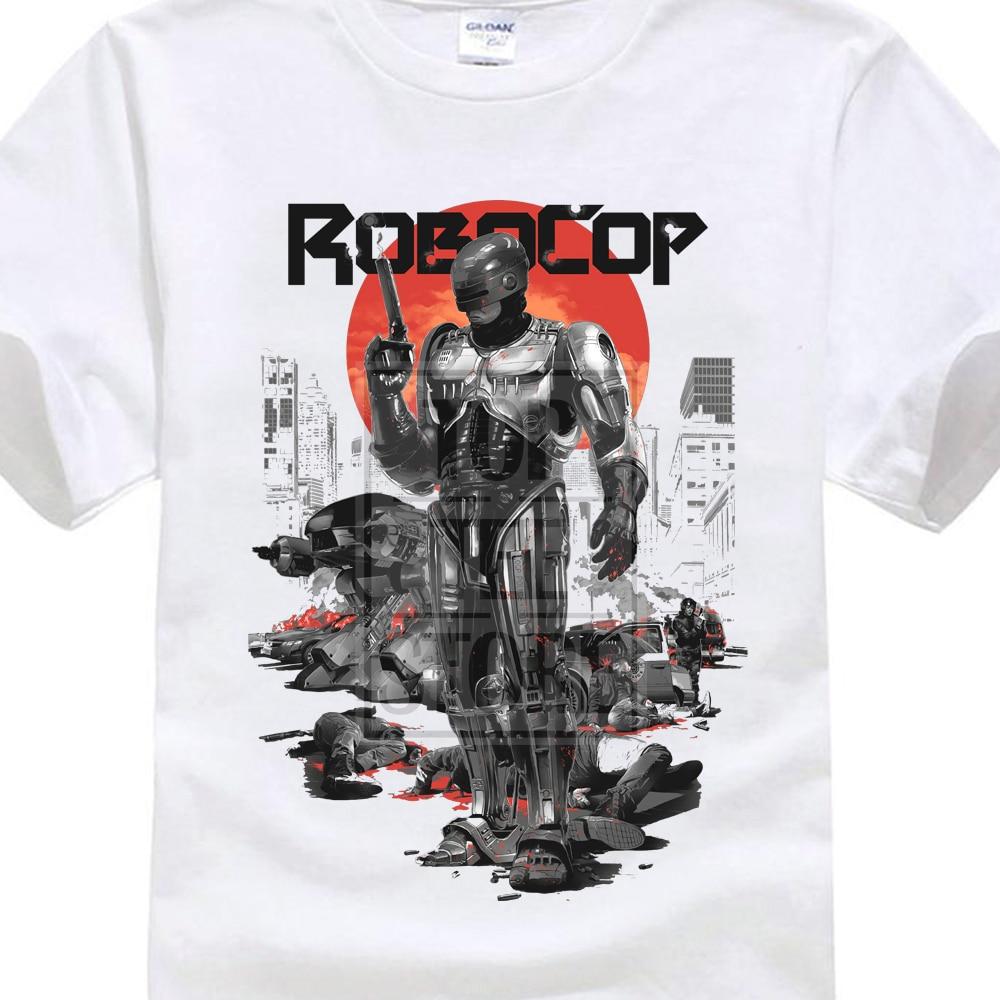 Robocop T Shirt Retro Vintage Cult Classic Movie Film Fandom Birthday Present