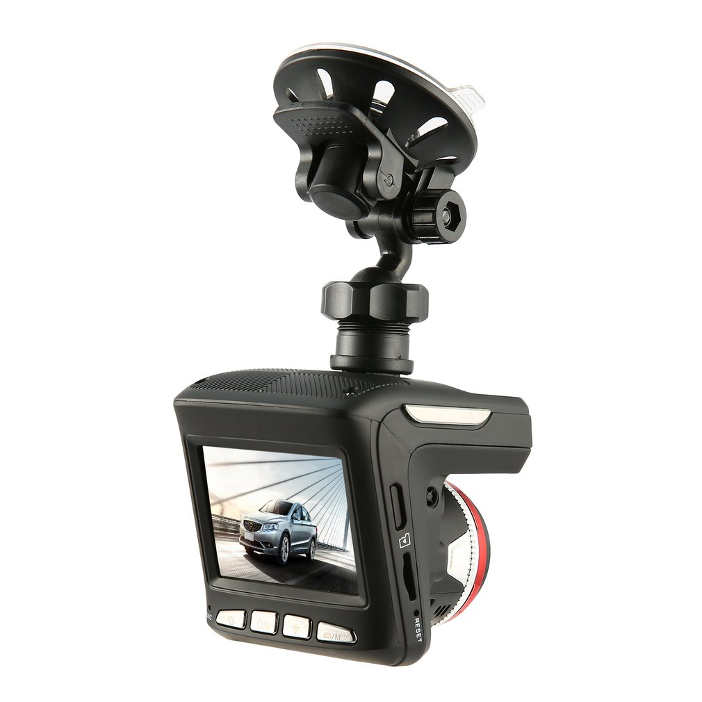 2.4'' Car DVR Screen HD 1080P Radar Detectors 360 Degree Video Recorder Recording Machine Camera Dash Cam Radar Speed Detector