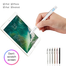 Active Stylus Pen for Apple iPad Pro 12.9/10.5/9.7 Air mini 5/4 Smart Touch Pen Cell Phone Android Tablet Drawing Writing Pencil