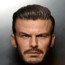 1/6 David Beckham Head Sculpt Young Version for 12''Male Bodies Figures
