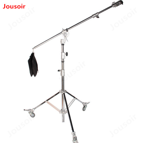 5 3m heavy duty light stand oblique arm lamp holder