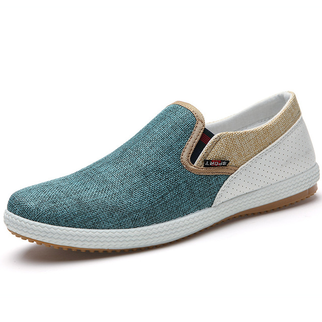 Noopula Mens Casual Shoes Mans Loafers Canvas Brand Flat Designer Famous  Shoe Loafers Oxford Canvas Trainers 207 Platform Luxury b60e6f9058b