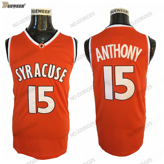 Dueweer Mens Camerlo Anthony University Basketball Jersey Vintage