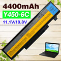4400mAh 6 CELL Laptop Battery Y450  For  Lenovo IdeaPad Y550 Y450a Y550A Y550P 55Y2054	L08L6D13 L08O6D13 L08S6D13