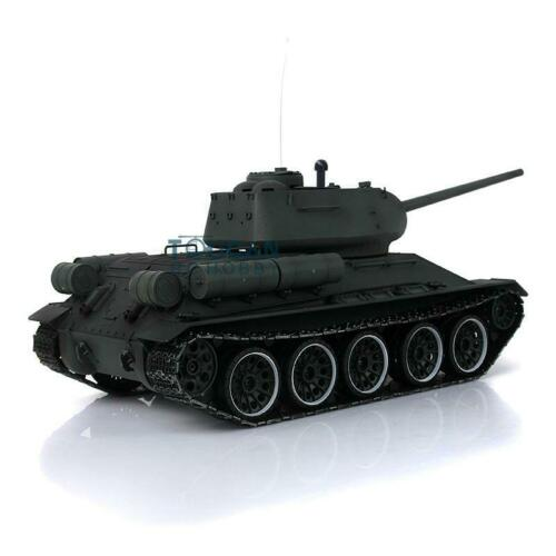 2.4G Henglong 1/16 Green 6.0 Plastic Ver Soviet <font><b>T34</b></font>-85 RTR RC <font><b>Tank</b></font> <font><b>Model</b></font> 3909 TH12925 image