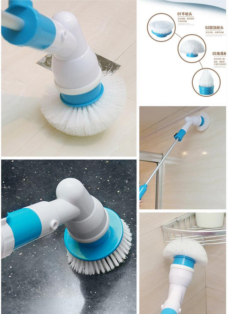 Tub Tile Cordless Power Scrubber Turbo Scrub Bathtub Tiles Floor 360