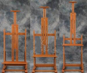 Image 2 - Đa mục đích nâng sơn dầu giá vẽ gấp phác thảo giá vẽ nghệ sĩ triển lãm trưng bày đứng gỗ tranh cavalete bảng quảng cáo