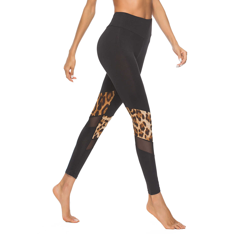 79775035311c8 ... Women's Pants Leopard Print Slim Leggings Women Leggins Elbows for  Fitness Legins Push Up Workout Jeggings ...