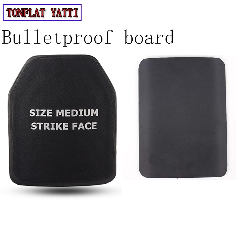 New nij iv Bulletproof armor plated 4.5mm chest flapper AK47 Bullet proof vests Body armor 6.0mm M16 3 kinds of thickness Plate-in Self Defense Supplies from Security & Protection