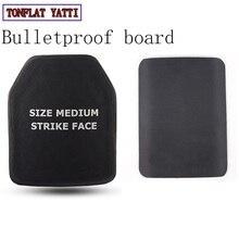 חדש Nij Iv Bulletproof שריון מצופה 4.5mm סנפיר חזה Ak47 אפודים מגן גוף שריון 6.0mm M16 3 סוגים של עובי צלחת