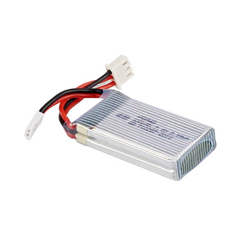 4pcs * 7.4V 350mAh 35c Lipo Battery for JXD 515W 515V 515 RC Quadcopter Drone