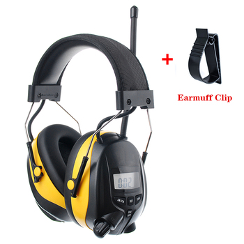НРР 25dB MP3 AM, FM радио защиты органов слуха электронных уха протектор Шум снижение безопасности наушники для работы