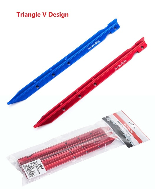 Brand 4pcs set Large and More Length 25cm Tent Pegs Aluminum alloy Tent Stake Outdoor Tent  sc 1 st  AliExpress.com & Brand 4pcs set Large and More Length 25cm Tent Pegs Aluminum alloy ...