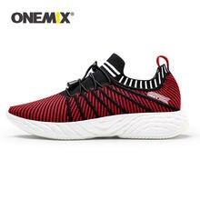 ONEMIX-Zapatillas con plataforma para mujer, calzado deportivo informal con suela de aire de malla transpirable para caminar, para verano